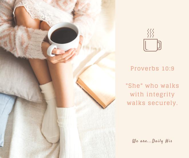 Proverbs 10.9